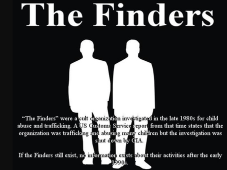 The Finders- Deep Child Abuse Group/Cult & Tim Ballard - Explains the Issues Of Human Trafficking