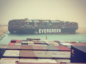 What's In The EVERGREEN Freight Containers?  Suez Canal Blockage #BOOM #WatchTheWater
