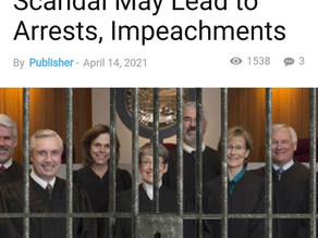 Montana Supreme Court Scandal Possible Arrests?  Q On The Front Page of Time Magazine!