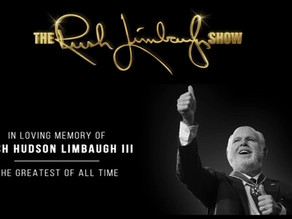 Rush Limbaugh aka Jim Morrison, RIP Greatest of all Time, King of Radio - JHD?