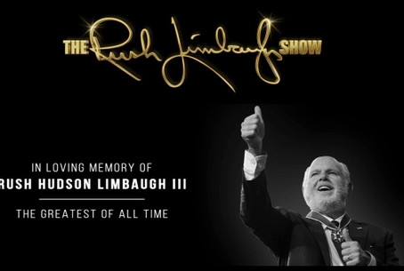 Rush Limbaugh AKA Jim Morrison, RIP Greatest Of All Time - King Of Radio