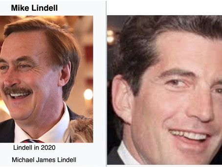Mike Lindell, My Pillow guy is JFK Jr.