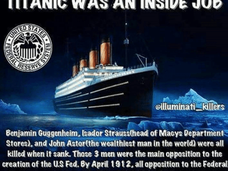 Sinking Of The Titanic Or Was It The Olympic? #FederalReserve