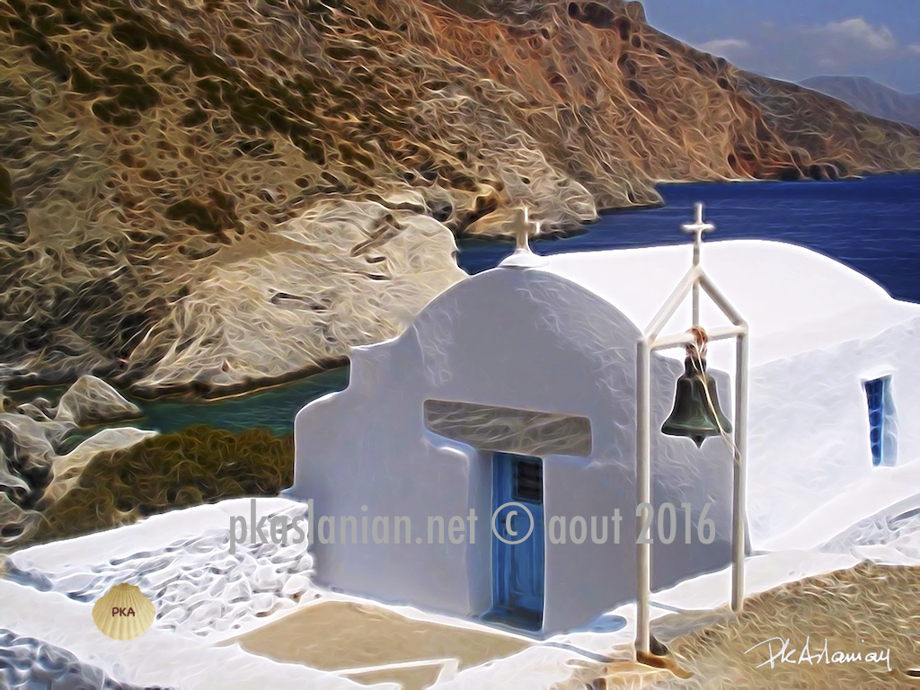 chapelle sur l'ile d'Amorgos