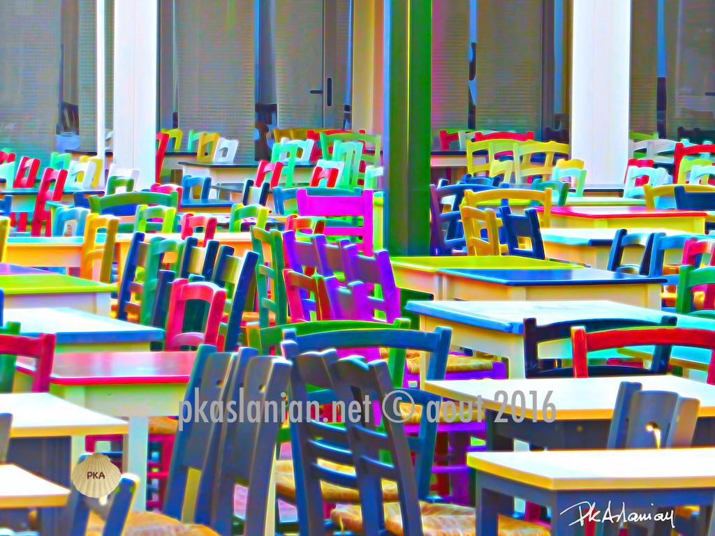 Iérapetra chaises