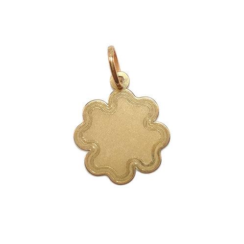 Medalha TREVO em Ouro 9K