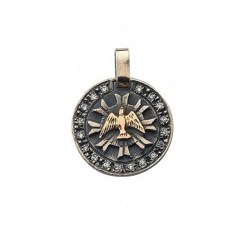 Medalha ESPÍRITO SANTO Prata & Ouro