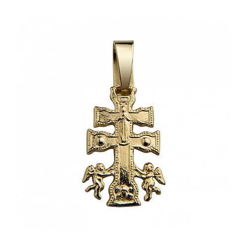 Cruz CARAVACA Ouro 19K