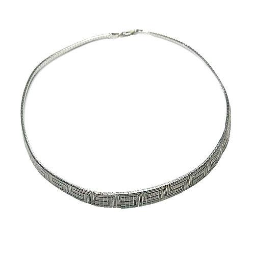 Gargantilha AZTECA em prata
