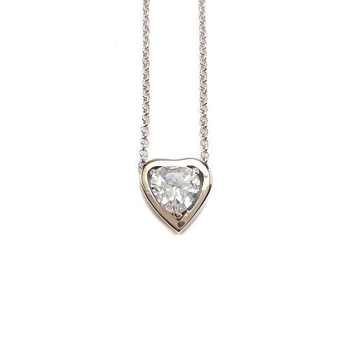 Colar MY HEART Prata & Ouro