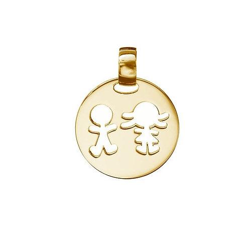 Medalha  2 MENINOS/AS My Passion