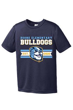 Navy Boone Bulldogs Drifit Shirt
