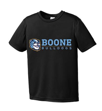 Black Boone Bulldogs Dri-fit Shirt