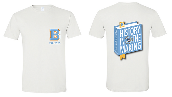 Official 2020-21 Spirit Shirt- History in the Making
