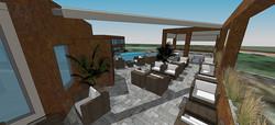 Terrasse & Raucherlounge 9