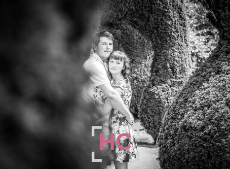 Alton Towers Engagement Photoshoot