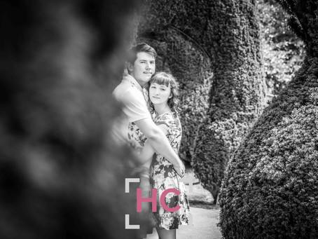 Alton Towers Engagement Photoshoot