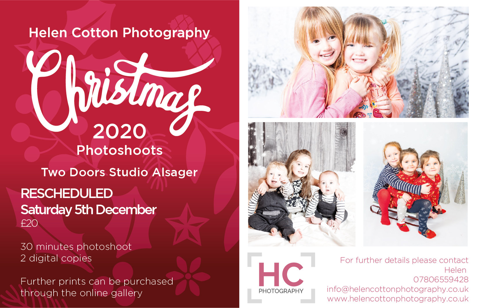 Saturday Alsager Christmas Photoshoot