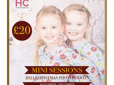 Christmas Photoshoots 2021