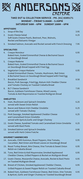 Creperie NEW TakeOut Menu 1pp September