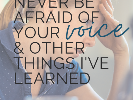 Never Be Afraid of Your Voice & Other Things I've Learned: Zebra Parenting