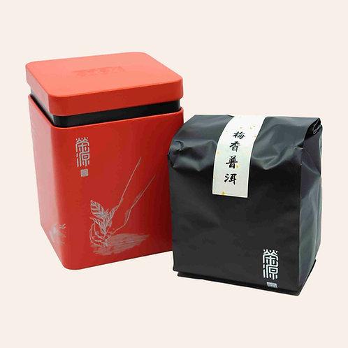 「梅香普洱」過大禮紅罐裝