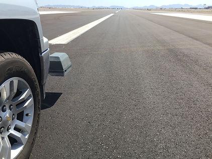 Inertial Profiling Arizona Runway