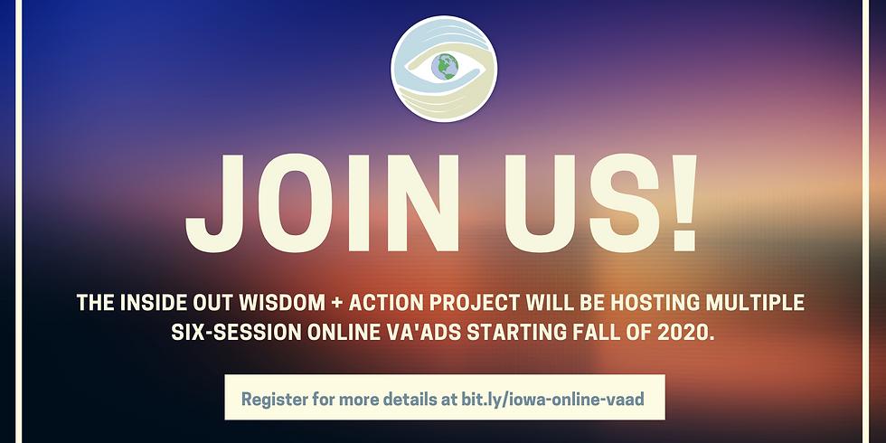 The IOWA Project's Online Va'ads