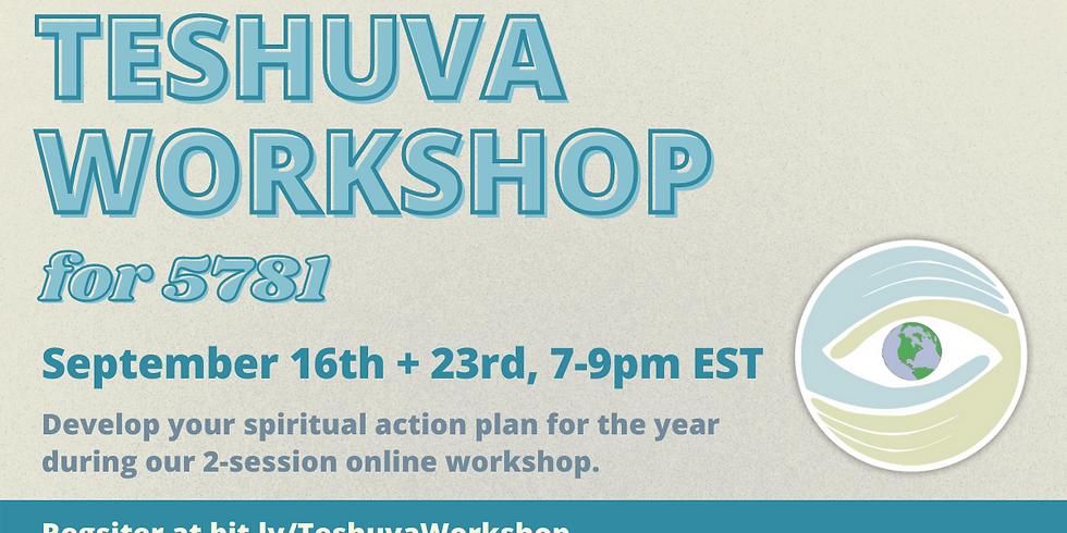 Teshuva Workshop
