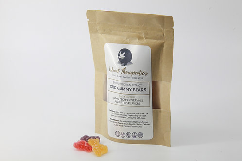 Island Therapeutic Broad Spectrum CBD Gummy Bears
