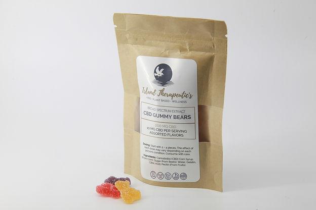 Island Therapeutic Broad Spectrum CBD Gummy Bears