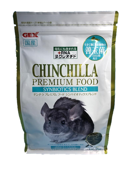 GEX 善玉菌腸胃調理優質龍貓糧
