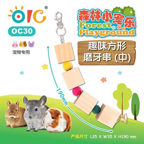 OIC 趣味方形磨牙串(大)