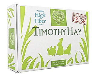 Small Pet Select (1st cutting) Super Fiber Timothy Hay