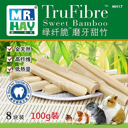 草先生MRHAY綠纖脆磨牙甜竹