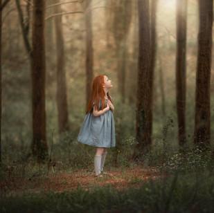 Nicole Kost- Fine Art Child and Nature P