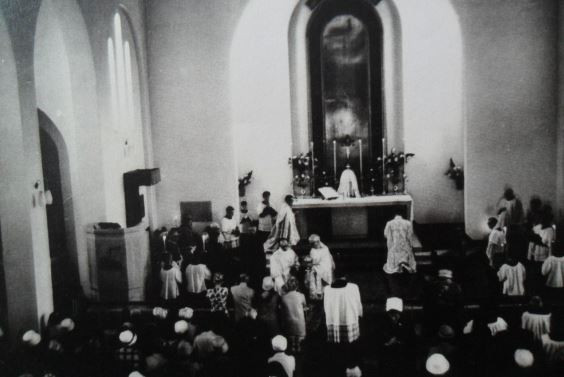 Opening Mass - 25th June 1961