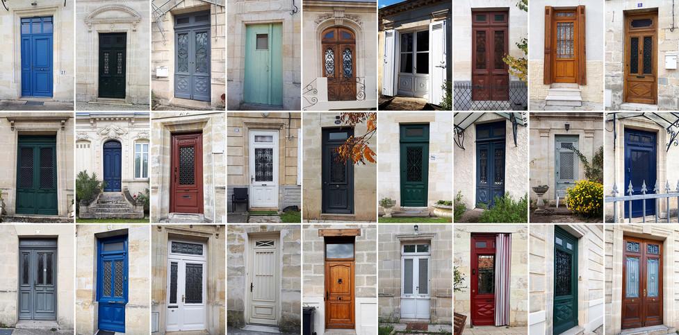 Portes maison Eysines Bourg
