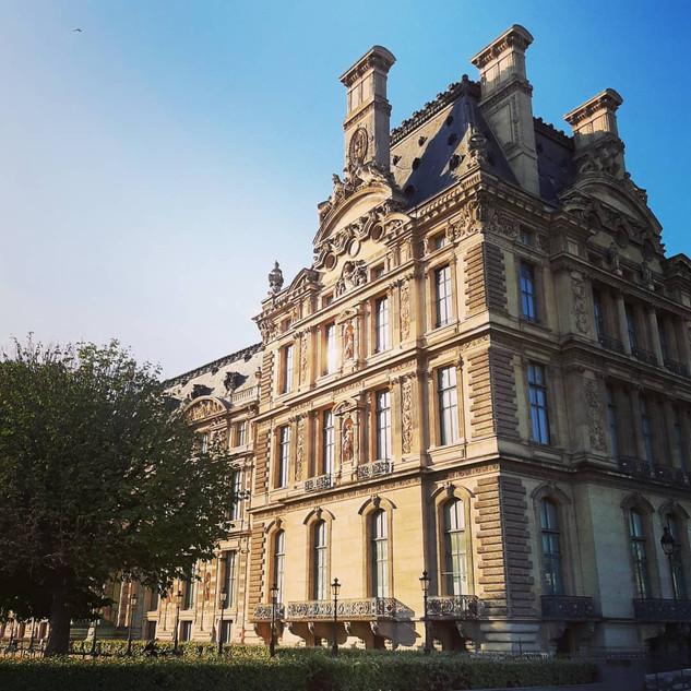 Douceur du matin, Palais du Louvre