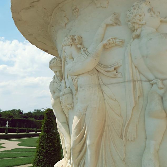 Curiosité du jardin du Château de Versailles