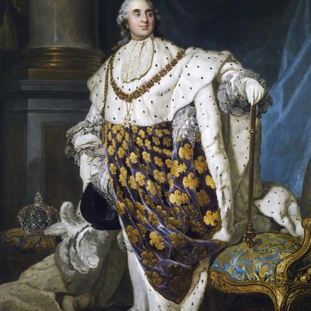 PORTRAIT DE LOUIS XVI EN COSTUME DE SACRE !