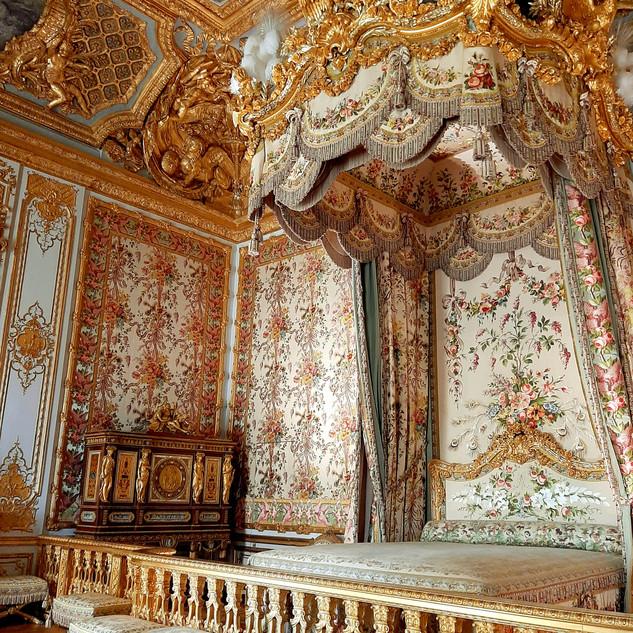 Chambre de la Reine, Château de Versailles