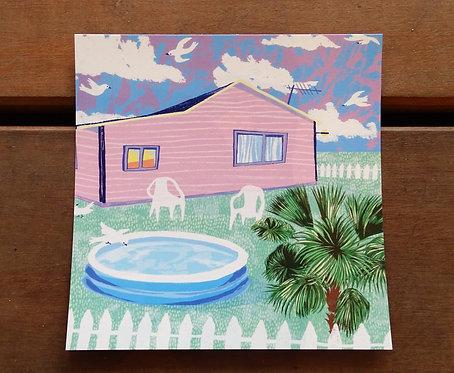 """Carte postale Célia Gaultier """"Middle class"""""""