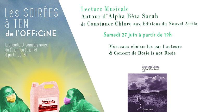 Lecture Musicale : Alpha Bêta Sarah