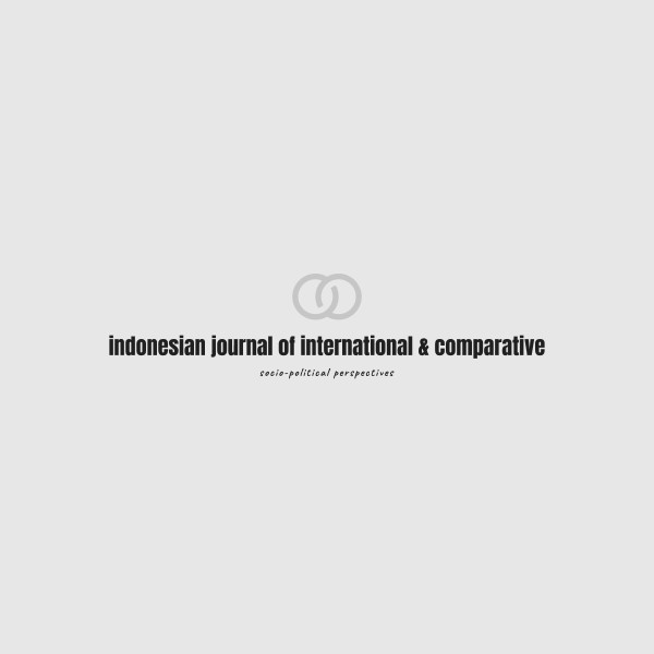 Home Indonesian Journal Of International Comparative Law