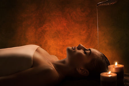 massaggio ayurvedico Shirodhara presso BOdy center emotions a Dueville ( Vicenza )