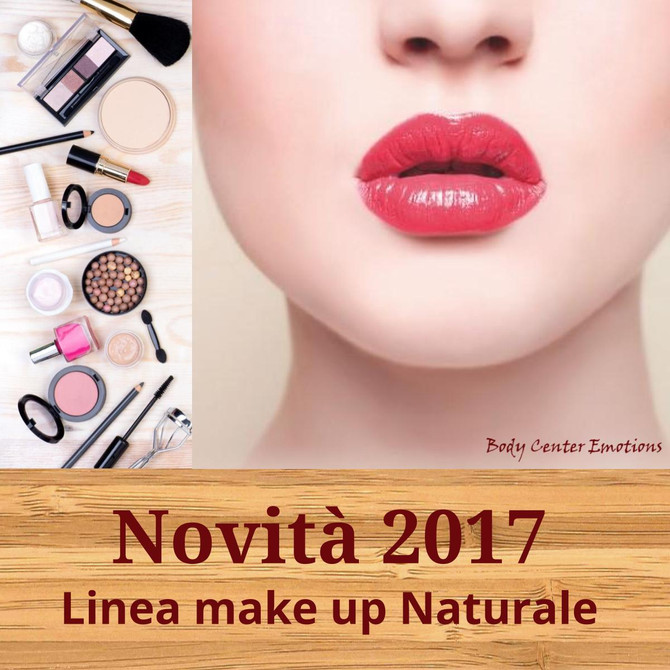 Nuova linea Make Up Naturale