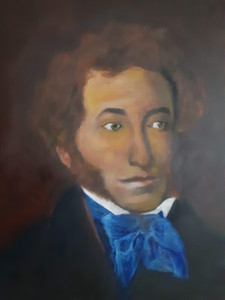 """Alexander Pushkin"" by Timothy Bluitt"