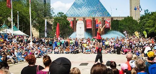 Edmonton Street Performers Festival
