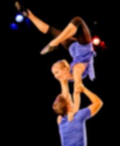 Hand-to-hand acrobatics